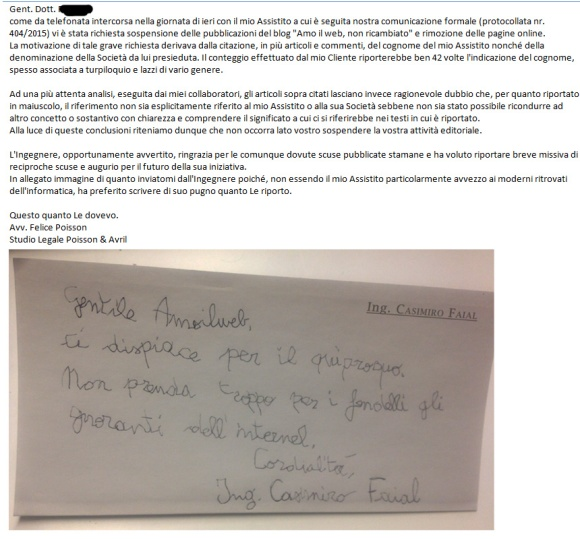 Ingegner Casimiro Faial